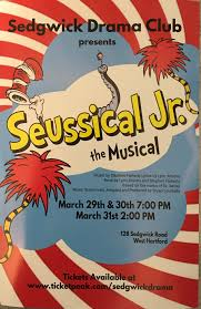 Seuss story, horton hears a who. Seussical Jr To Be Performed At Sedgwick Middle School In West Hartford We Ha West Hartford News