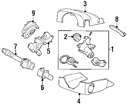 parts com® volvo xc90 steering column assembly oem parts diagrams 2008 volvo xc90 v8 v8 4 4 liter gas steering column assembly