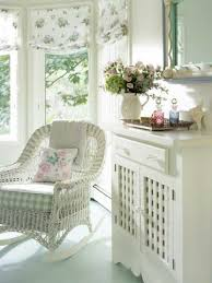 wicker furniture decorating ideas. White Wicker Rocker With Cushions! Furniture Decorating Ideas