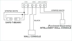 craftsman garage door sensor wiring diagram electrical drawing