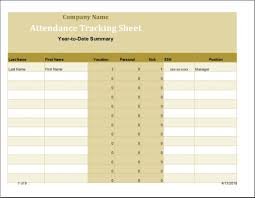 Employees Attendance Sheet Template Employee Time And Attendance Sheet Template Word Excel Templates