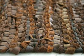 woven leather rug woven leather rug how to clean leather rug rugs ideas hand woven leather