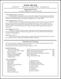 Sample Staff Nurse Resume Registered Nurse Resume Example Sample Nursing Resumes with Staff 37