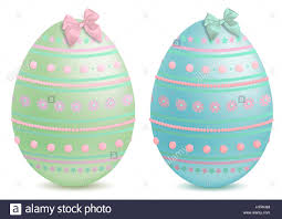 Pretty Egg Designs Beautiful Pastel Painted And Decorated Illustrated Easter