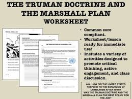 marshall plan and truman doctrine essay typer estudiar ayuda essey