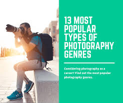 Types Of Photography 13 Most Popular Types Of Photography Genres Photography Course