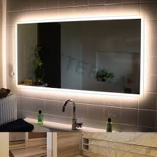 Bathrooms Design Vanity Mirror With Lightlbs Bathroom Lights Behind Lighting  Around The Edge Wall Led Backlit ...