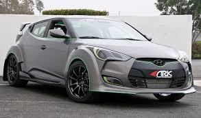 hyundai veloster turbo custom. ark performance hyundai veloster turbo custom