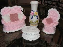 free crochet barbie doll furniture patterns
