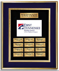 Employee Of The Month Photo Frame Employee Of The Month Frame Award Indigo Blue Gold