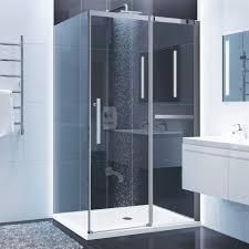 48 sliding shower door with 36