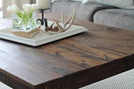 rustic wood farmhouse coffee table ana white farmhouse coffee table