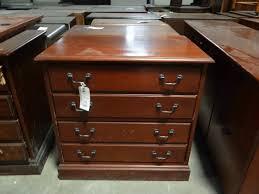 used wood file cabinets