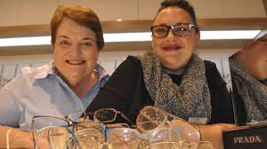 out of sight kiama lions club member phyl willetts and kiama eye s jenny miles are