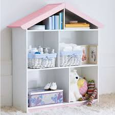 kid s bookcase shaped like a doll s house