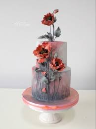 Poppies Pretty Cakes In 2019 Cake Poppy Cake Cupcake Cakes
