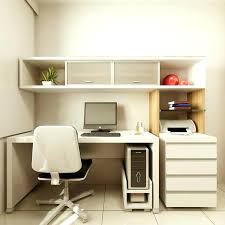 ideas for a small office. Small Office Ideas Awesome Design Of The Home With White Wooden Shelves And Storage . For A