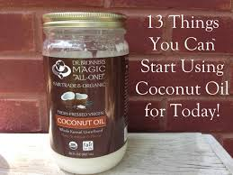 these are great suggestions to get the most out of your coconut oil and