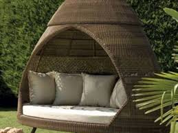 unusual outdoor furniture. full size of outdoor furnitureunique and unusual patio furniture brown wicker canopy daybed rattan n