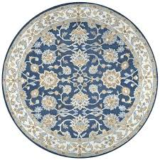8 round area rugs home blue wool border round area rug 8 x 8 area rugs