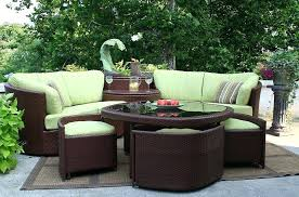 outdoor rounded sectional slick curved outdoor sectional can be turned to create any angle ideas for outdoor rounded sectional