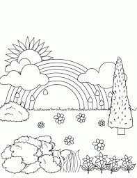 20+ Free Printable Rainbow Coloring Pages - EverFreeColoring.com