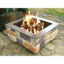 diy propane fire pit kit canada table gas wood burning ideas