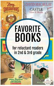 favorite books for reluctant readers in 2nd 3rd grade