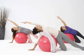 Fitball Workout Guide Woman