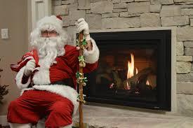 a santa approved fireplace