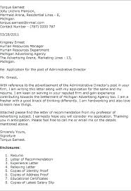 Cover Letter With Recommendation Free Download Application