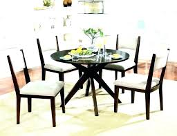 42 black round dining table round glass dining table inches round glass dining table inch round 42 black