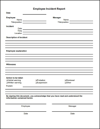 Incident Reporting Template 100 Free Incident Report Template Word Excel Formats 26