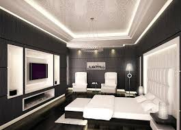 Black And White Modern Bedroom View In Gallery Exciting Contemporary ...
