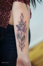 тату ирис геометрия цветы дотворк лайнворк киев Tattoo идеи для