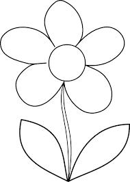 Small Flowers Coloring Sheet Kayaflowerco