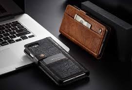 caseme iphone 8 plus retro leather wallet case