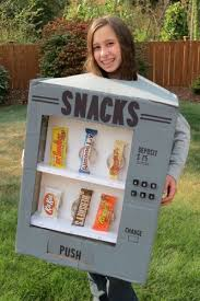 Diy Vending Machine Costume Cool Thrifty And Thriving Made An Adorable Candy Vending Machine Costume