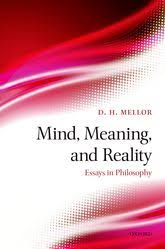 mind meaning and reality essays in philosophy oxford scholarship mind meaning and reality essays in philosophy
