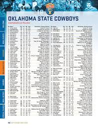 146 60th autozone liberty bowl special thanks bowl history honors oklahoma state missouri bowl events welcome oklahoma state cowboys alphabetical roster