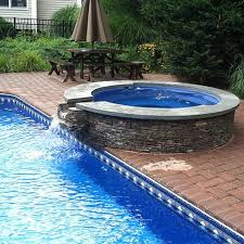inground pools with hot tubs. Inground Pool With Hot Tub Spill Over Spa 480\u2014480 Pools Tubs