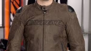 dainese street rider leather jacket review at revzilla com you