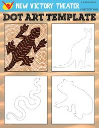 learn about traditional aboriginal art and try it out yourself with this printable worksheet inspired by