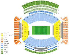 Alabama Seating Chart Bryant Denny Georgia State Panthers At Alabama Crimson Tide Football