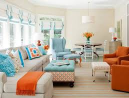 View in gallery Aqua, turquoise and coral come together with surprising and  elegant ease!