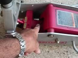 floor jack repair sears craftsman 50240