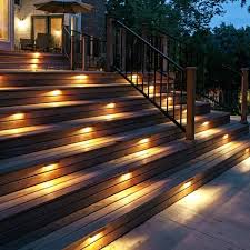 outdoor stairway lighting. Deck Stairs Lighting Outdoor Stairway I