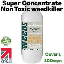 However, be careful not to cause corrosion on your driveways, patios, and other. Non Toxic Weed Killer No Glyphosate Pet Friendly Artificial Grass Safe Organic Ebay