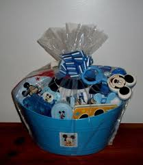 disney baby mickey mouse gift basket baby bottle bibs socks blanket pajamas new