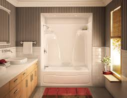 shower wall material inch tub combo bathtub surround ideas wood fibergl stalls kits showers the home